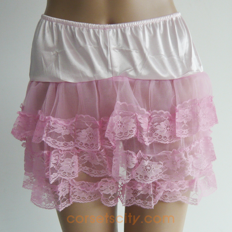 Petticoat With Lace Trim HP5741