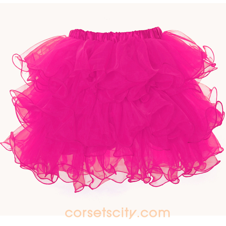 Rose Organza Skirt HP5733
