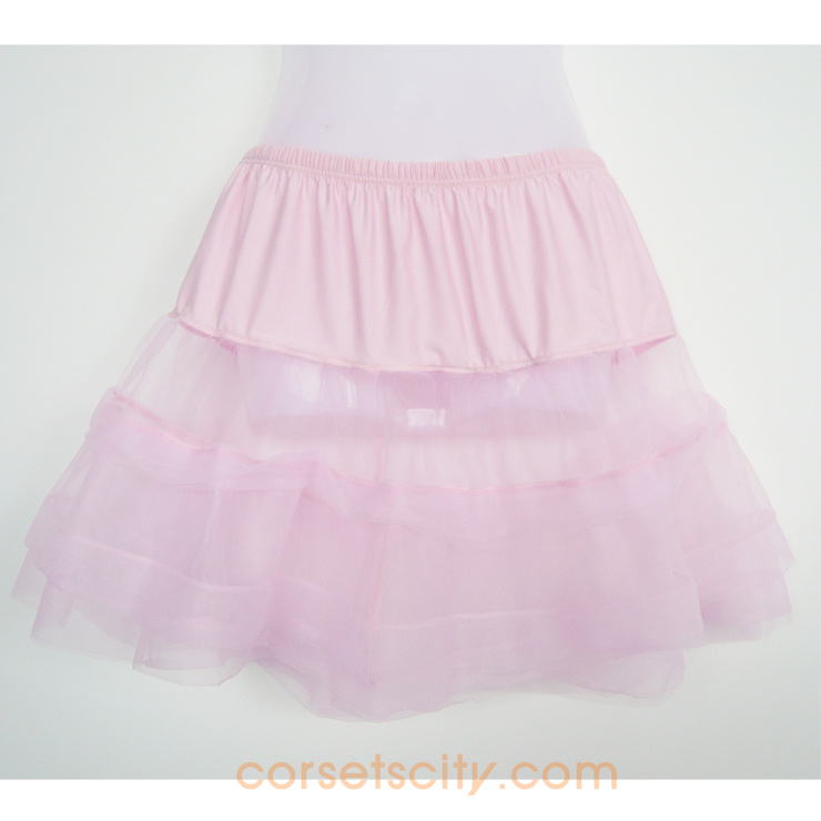 Satin Trimmed Petticoat HP5764