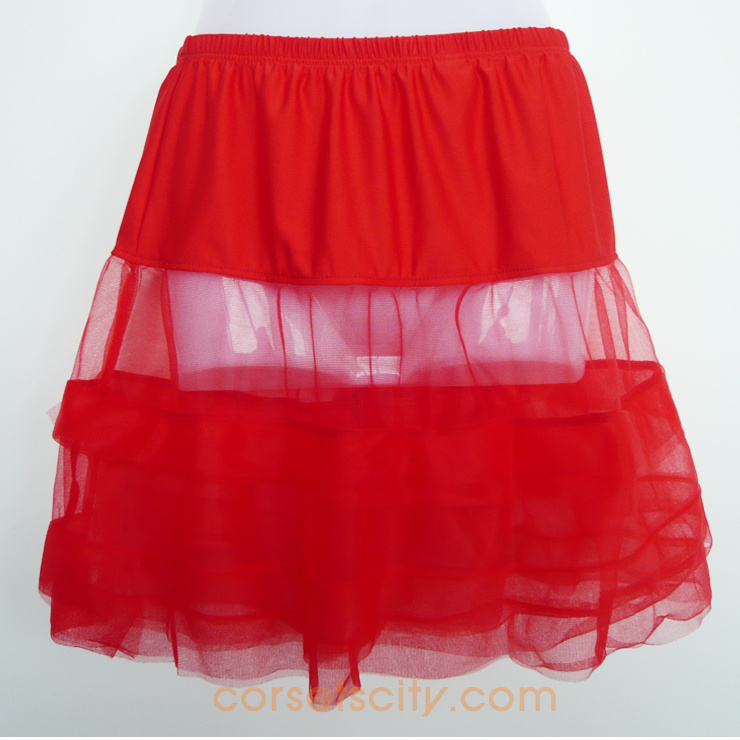 Satin Trimmed Petticoat HP5765