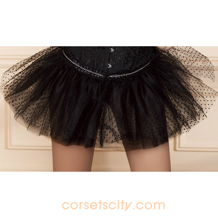 Black Dot Pettiskirt HP5732