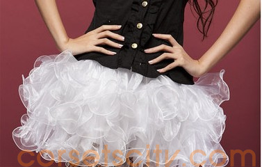 White Organza Skirt HP5739