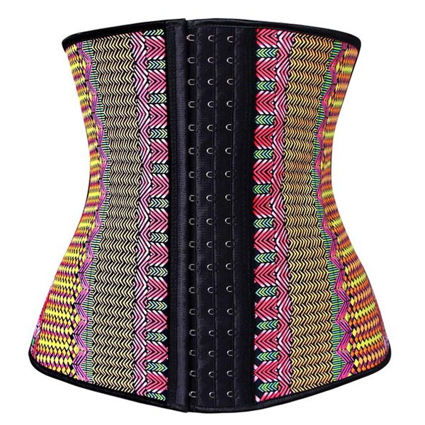 Waist Trainer for Weight Loss Latex Workout Cincher Hourglass Corset Multi HP1302