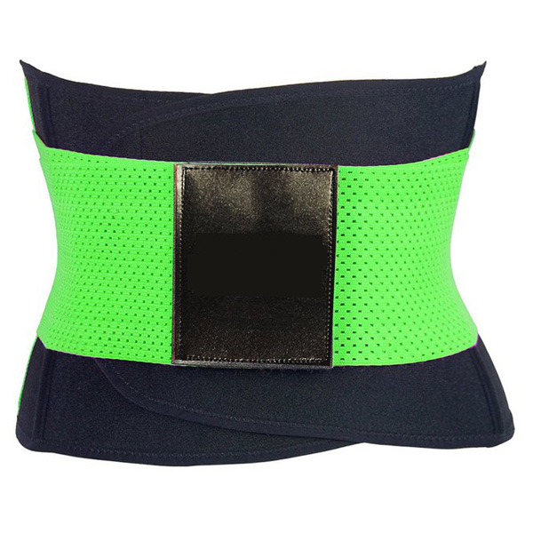 Xtreme Belt Power Shapers Hot Slimming Waist Gym Trainer Corset Green HP1322