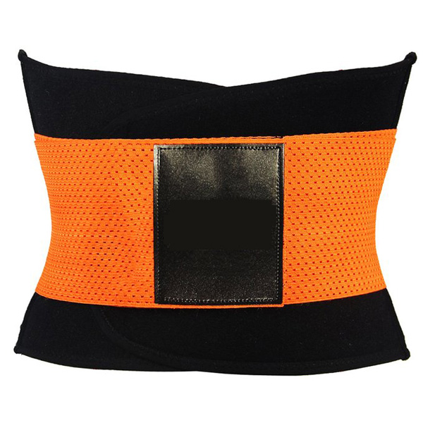Xtreme Belt Power Shapers Hot Slimming Waist Gym Trainer Corset Orange HP1323