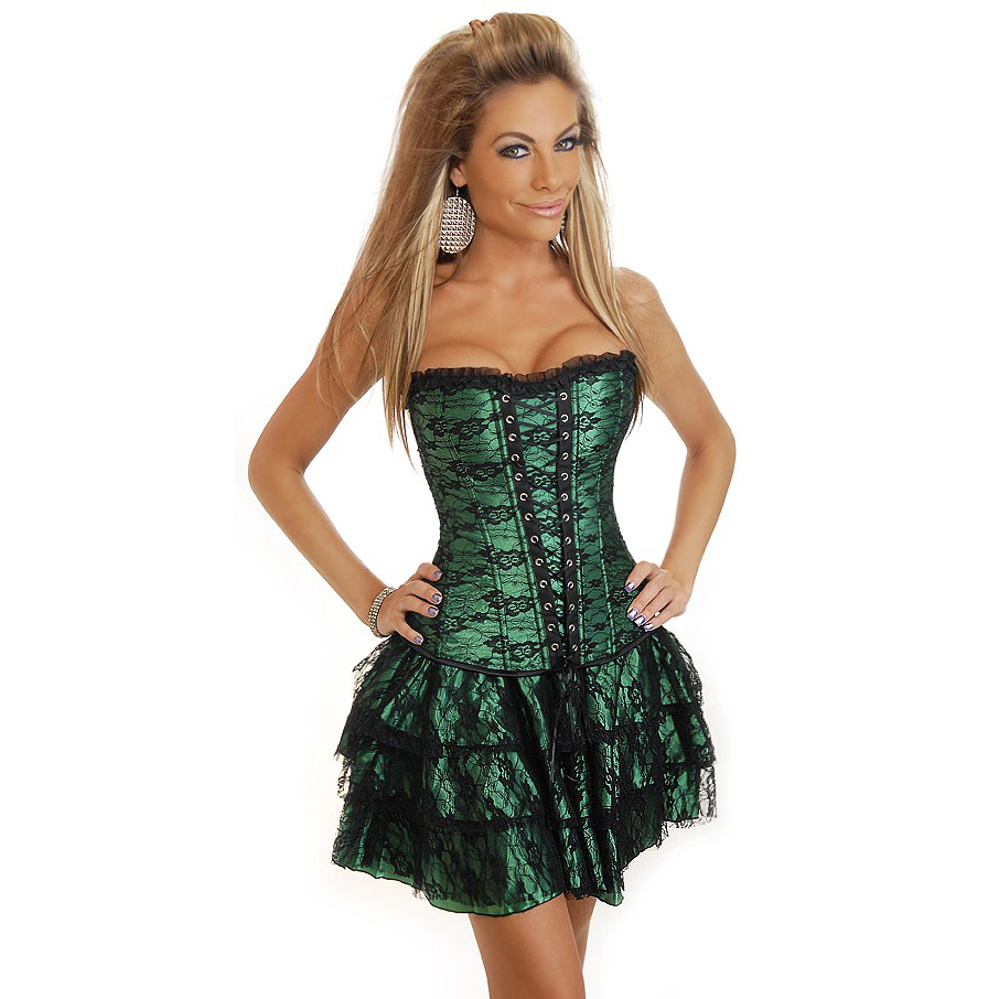 3Pcs Corset, Skirt & G-String HP5085