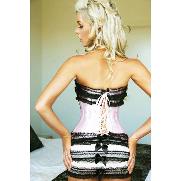 3Pc Sexy Corset Set HP6002