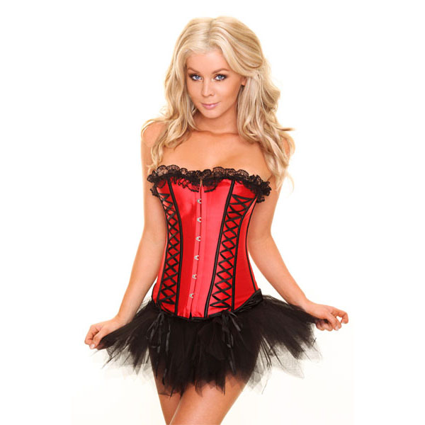 Red Corset&Pettiskirt Set HP5098