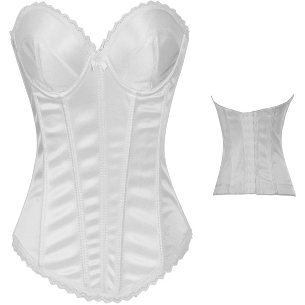 Bridal White Corset HP5879