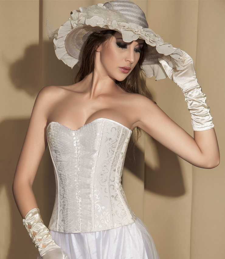 Brocade Bridal Corset HP5876
