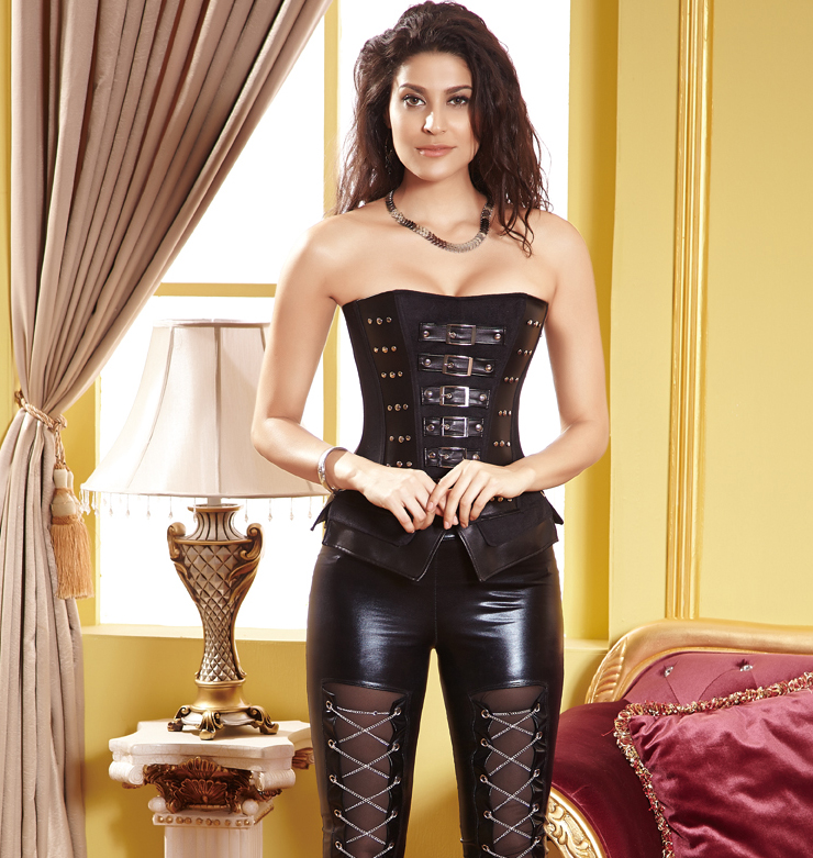 Buckle Strap Corset HP5843
