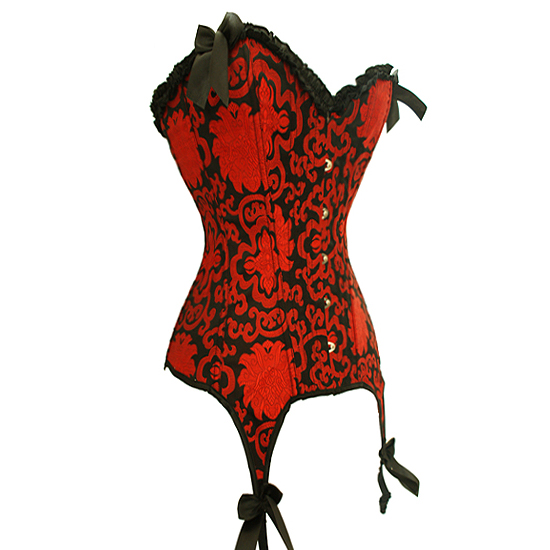 Deep Red Shadow Corset HP5538