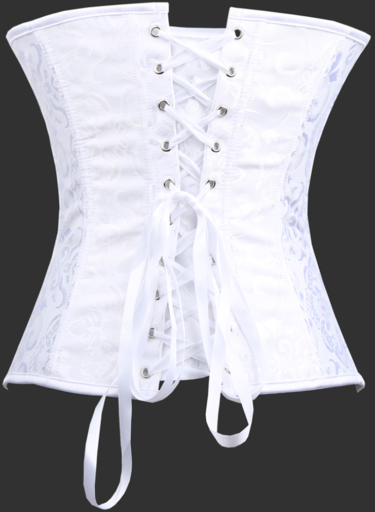 Embroidered Bow Corset HP5864