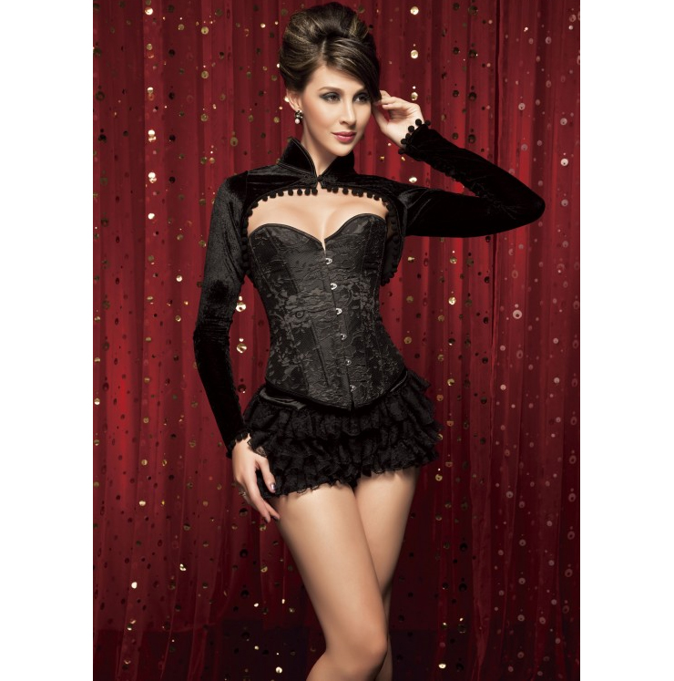 Embroidered Steel Boning Corset HP5511