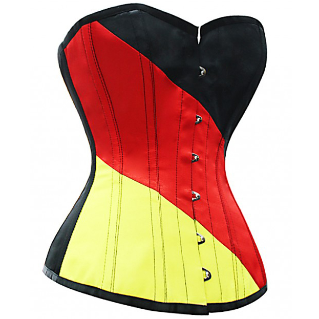 Fashion German Flag Corset HP5200