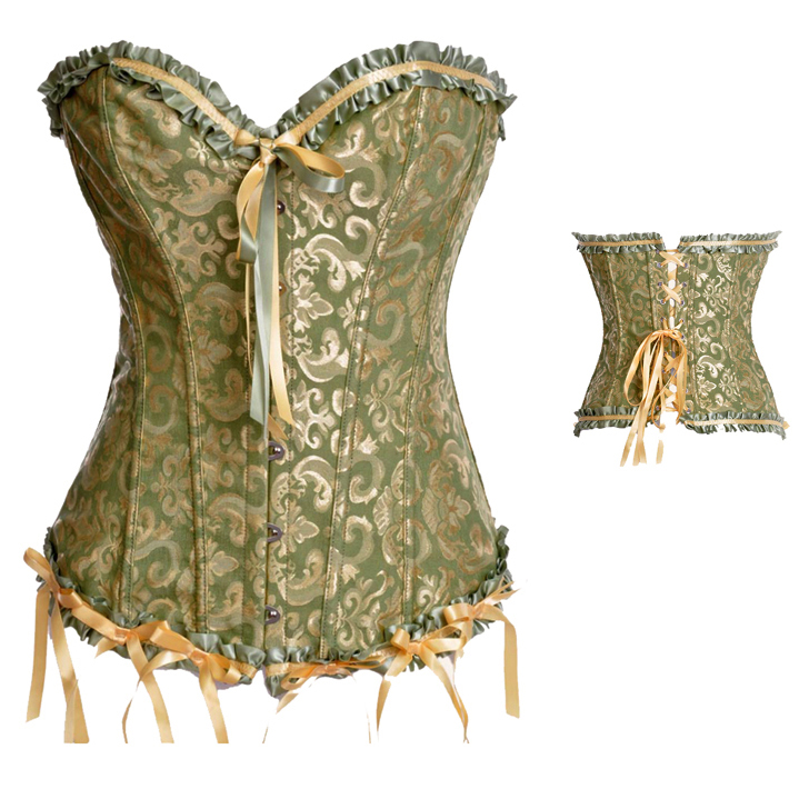 Floral Embroidered Corset HP5496