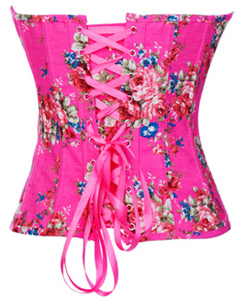Floral Fantasy Pink Corset HP5333