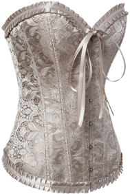Palace Butterfly Bow Brocade Corset HP5149