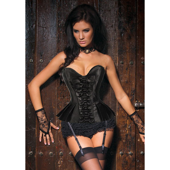 Pleated Skirted Corset HP5419