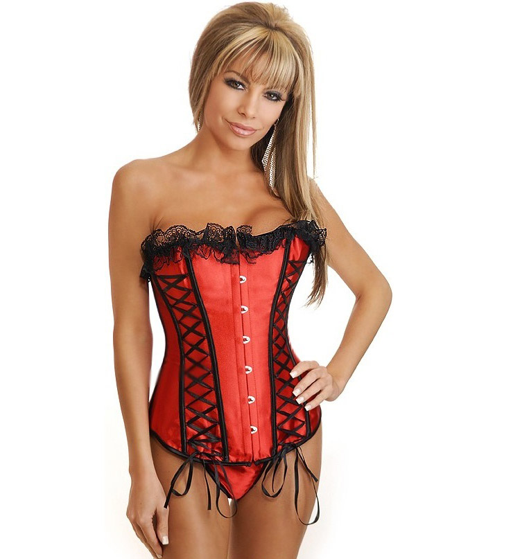 Red Corset Bustier HP5569