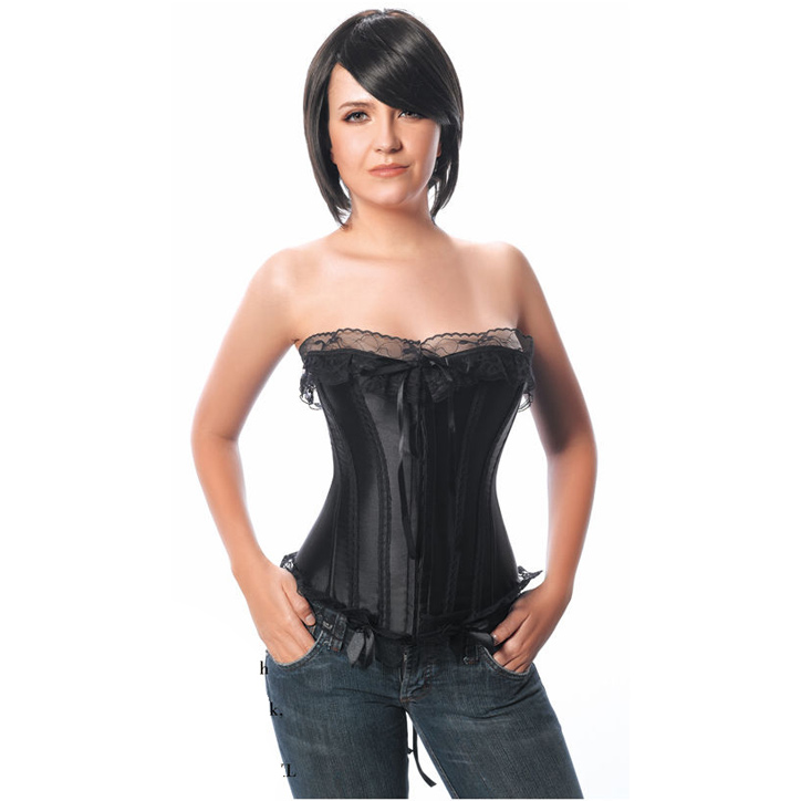Ribbon Strapless Corset HP5607