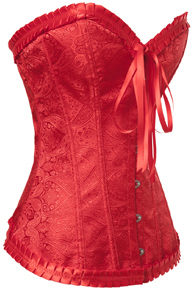 Satin Brocade Sweetheart Corset HP5151