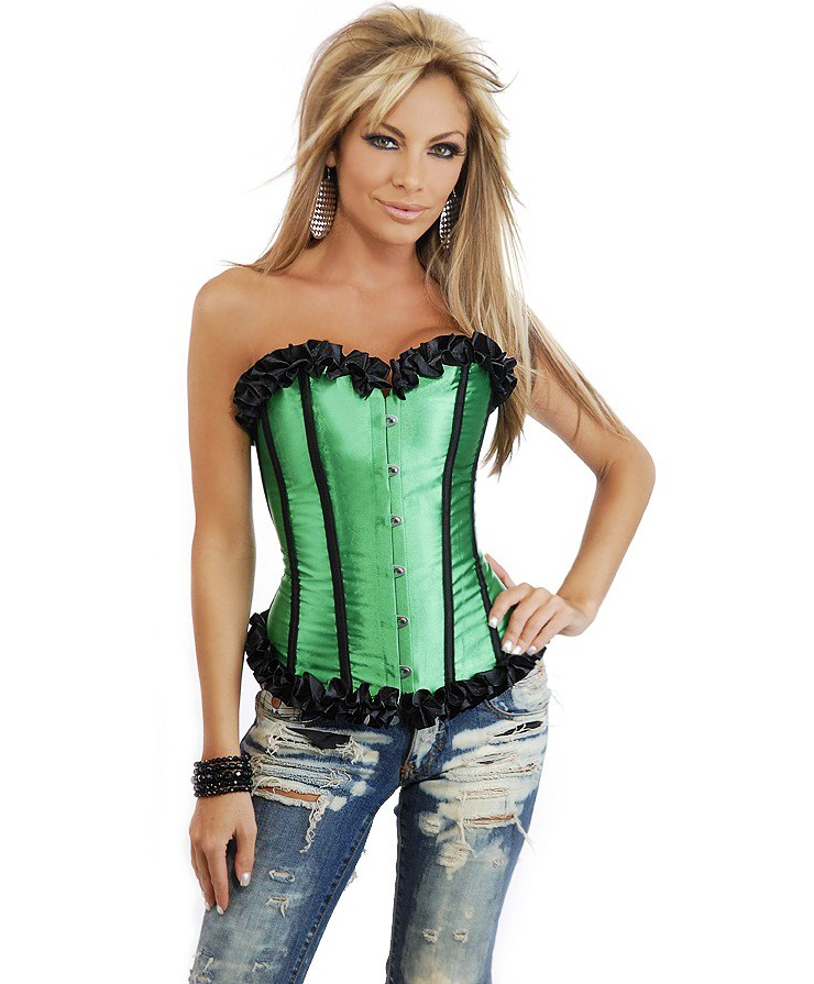 Strapless Burlesque Corset HP5966