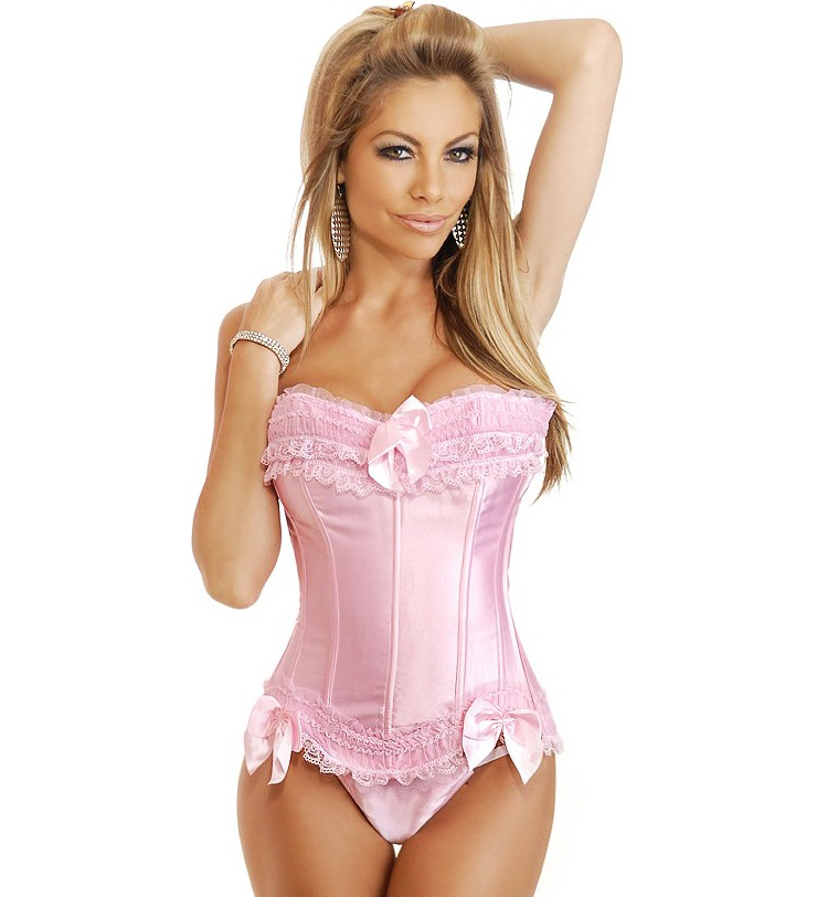 Strawberry Shortcake Burlesque Corset HP5958