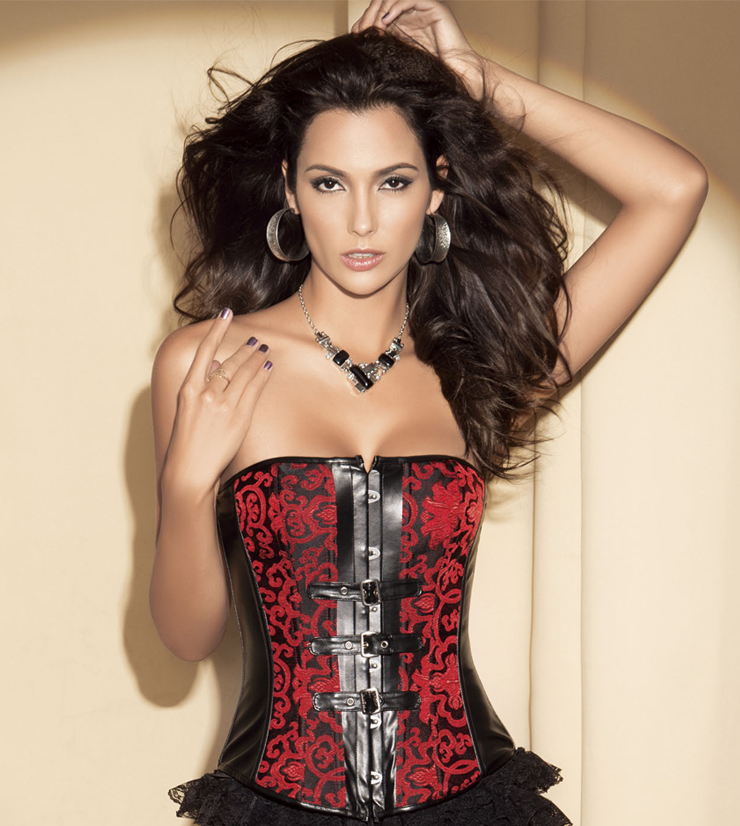 Buckle Accents Corset HP5341