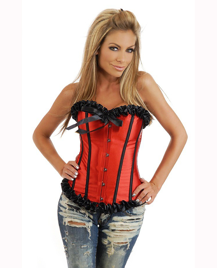 Red Corset Bustier HP5546