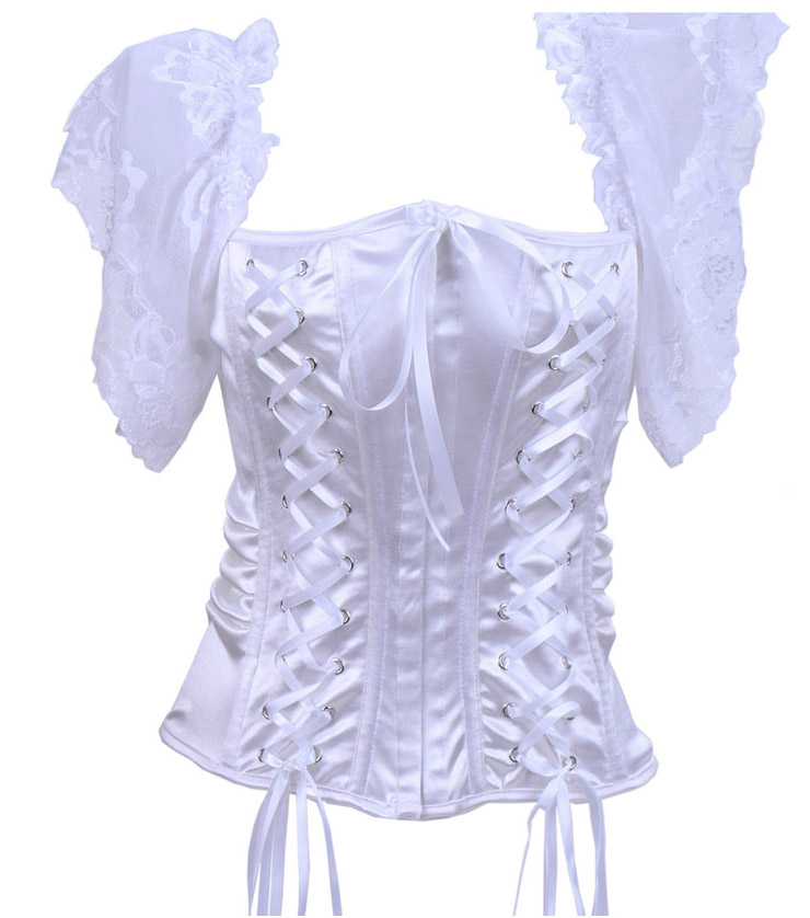 White Bustier HP5874