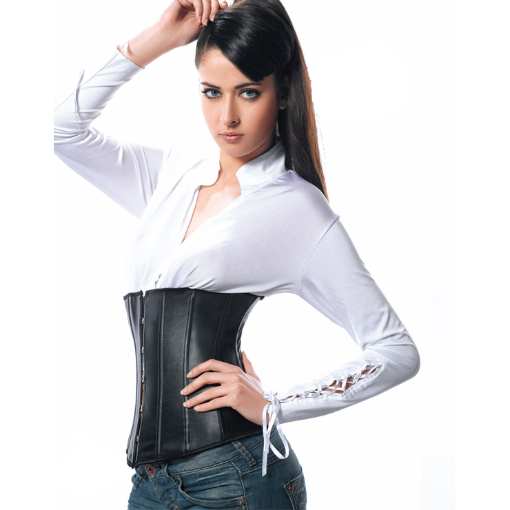 Leather Underbust Corset HP6037