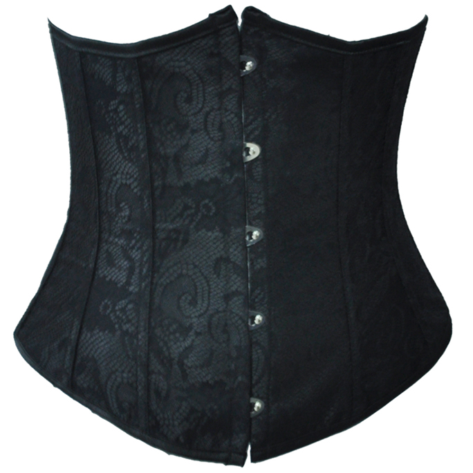 Black Lace Underbust Corset HP5802