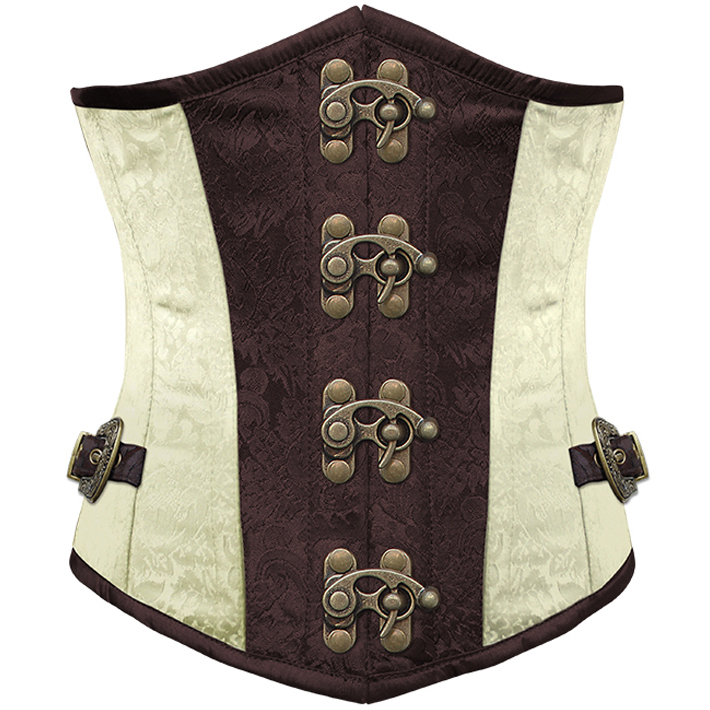 Brocade Steel Boned Underbust Corset HP5782