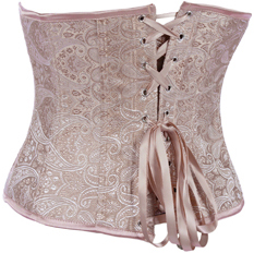 Palace Embossed Pattern Underbust Corset HP5777